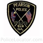 Pearson Police Department Patch