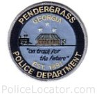 Pendergrass Police Department Patch