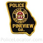 Pineview Police Department Patch