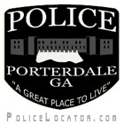 Porterdale Police Department Patch