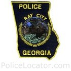 Ray City Police Department Patch