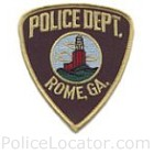 Rome Police Department Patch