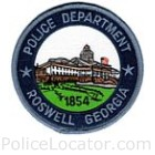 Roswell Police Department Patch