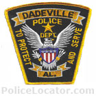 Dadeville Police Department Patch
