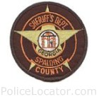 Spalding County Sheriff's Office Patch