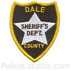 Dale County Sheriff's Department Patch