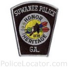 Suwanee Police Department Patch