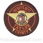 Taylor County Sheriff's Office Patch
