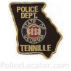 Tennille Police Department Patch