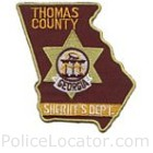 Thomas County Sheriff's Office Patch
