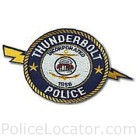 Thunderbolt Police Department Patch