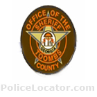 Toombs County Sheriff's Office Patch