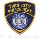 Twin City Police Department Patch