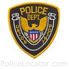 Union Point Police Department Patch