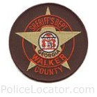 Walker County Sheriff's Office Patch