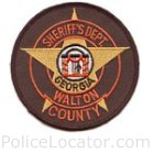 Walton County Sheriff's Office Patch