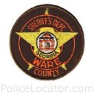 Ware County Sheriff's Office Patch