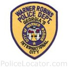 Warner Robins Police Department Patch