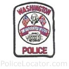 Washington Police Department Patch