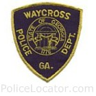 Waycross Police Department Patch