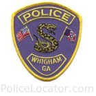 Whigham Police Department Patch