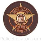 Wilcox County Sheriff's Office Patch