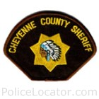 Cheyenne County Sheriff's Office Patch