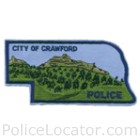 Crawford Police Department Patch