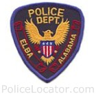 Elba Police Department Patch
