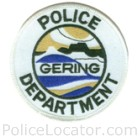 Gering Police Department Patch