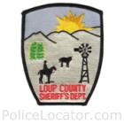 Loup County Sheriff's Office Patch
