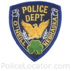O'Neill Police Department Patch