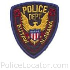 Eutaw Police Department Patch