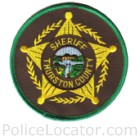 Thurston County Sheriff's Office Patch