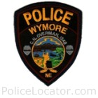 Wymore Police Department Patch