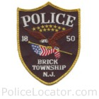 Brick Township Police Department Patch