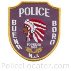 Buena Boro Police Department Patch