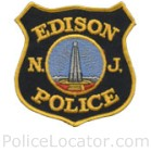 Edison Police Department Patch