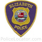 Elizabeth Police Department Patch