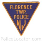 Florence Township Police Department Patch