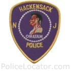 Hackensack Police Department Patch