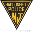 Haddonfield Police Department Patch