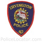 Irvington Police Department Patch
