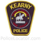 Kearny Police Department Patch