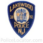 Lakewood Township Police Department Patch