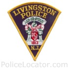 Livingston Police Department Patch