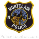 Montclair Police Department Patch