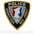 Morristown Police Department Patch