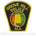 Grove Hill Police Department Patch