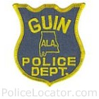 Guin Police Department Patch